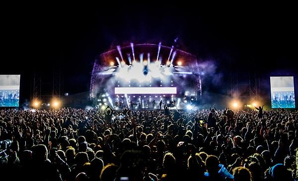 Bristol Festival Buehne